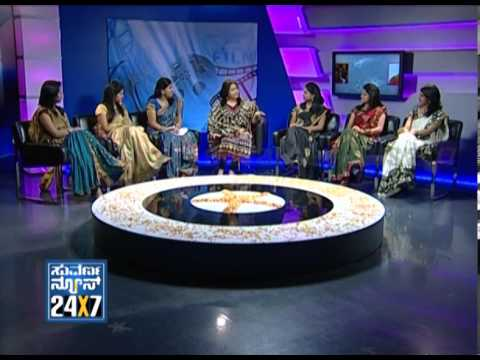 Seg  1 - Suvarna Girls With Rakshitha - 14 Nov 2012 - Suvarna News video