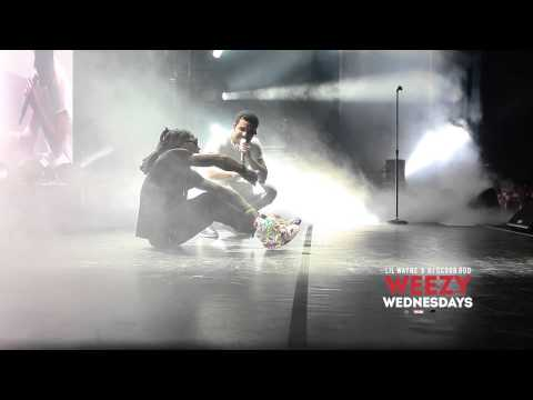 Lil' Wayne & Drake - Hold On, We're Going Home (Live)