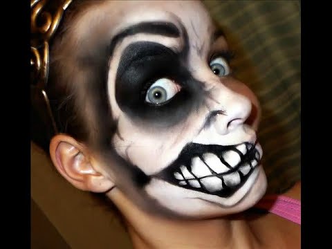 Halloween Series 2011 (request): Crazy Face Tutorial