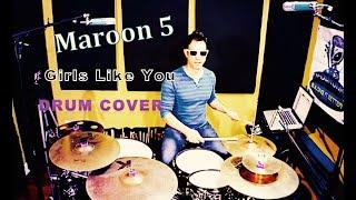 Download Lagu Maroon 5 - Girls Like You ft. Cardi B (Drum Cover) Gratis STAFABAND