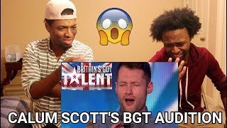 Download Lagu Golden boy Calum Scott hits the right note | REACTION | Britain's Got Talent 2015 Gratis STAFABAND