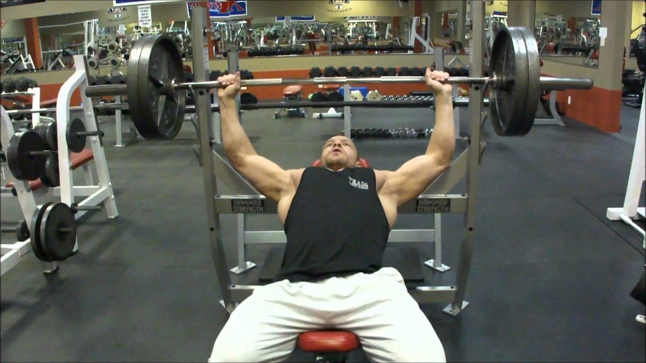 Proper Incline Bench Press Form Proper Incline Barbell Bench