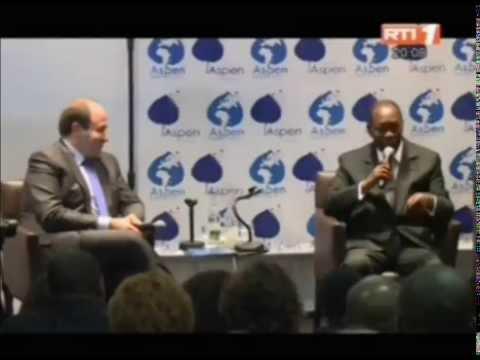 Le président  Alassane Ouattara prend part au forum ASPEN à Paris
