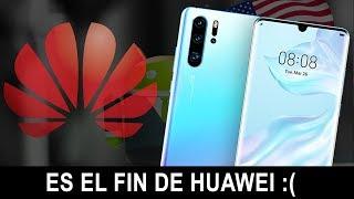 ¿ES EL FIN DE HUAWEI? Se Quedara Huawei sin Android ¿Que hará Ahora Nuevo Kirin OS?