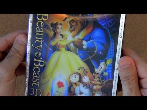 Beauty and the Beast Diamond Edition 3D blu ray unboxing review