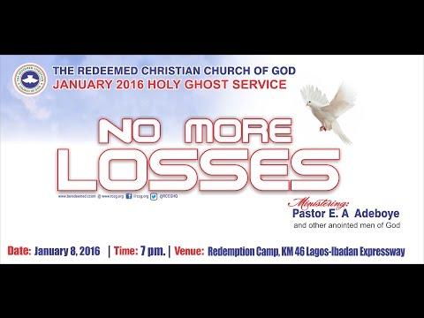 JANUARY 2016 HOLY COMMUNION SERVICE - NO MORE LOSSES.