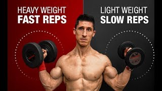 How to Perform Reps for Most Muscle Growth