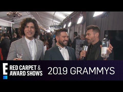 Download Dan  Shay Get a Tequila Surprise at the 2019 Grammys  E Red Carpet amp Award Shows