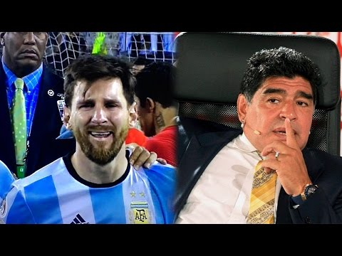Messi retires from Argentina, Maradona pleads him to come back | Oneindia News