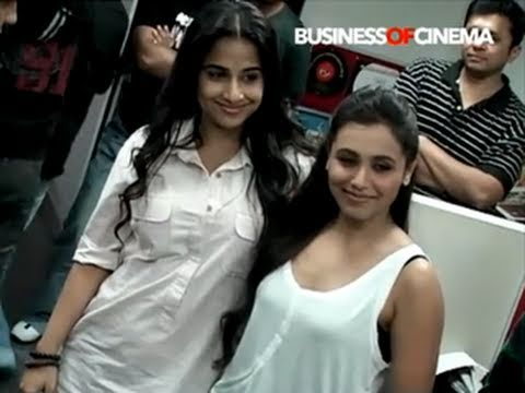Rani Mukherji, Vidya Balan Talk About No One Killed Jessica video
