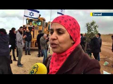 KKL-JNF Launches Project Wadi Attir in Israeli Desert: sustainable farming in Bedouin village