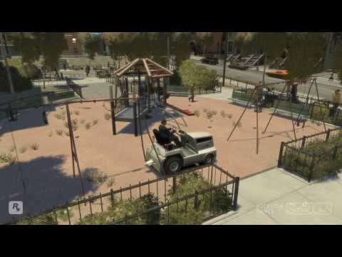 GTA 4   Stunts & Crashes