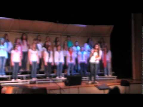 North Albany Middle School Concert Choir- Born This Way (Solo: Moira Bartelds)