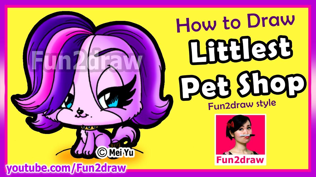 Littlest Pet Shop Drawings How to Draw a Littlest Pet