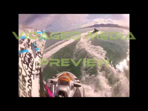 Jet Ski Rider Goes over Humpback Whale - PREVIEW - VM00314 - 720 VM00314