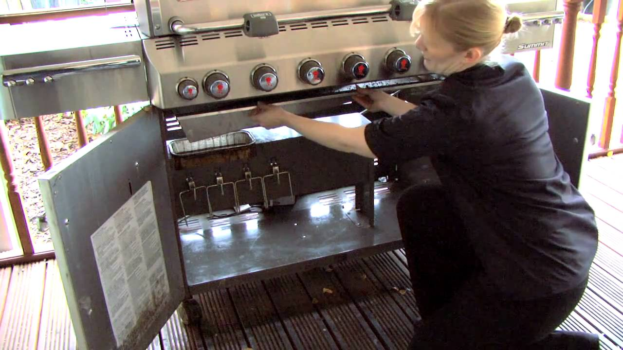 how to clean your bbq after winter weber gas