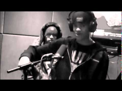 Rogan Rapping live on local Radio Station - Cape Town, South Africa.