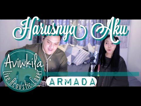 Download Harusnya Aku - Armada Live Acoustic Cover by Aviwkila Mp4 baru