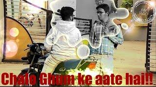 Chalo Ghum ke Aate hai prank-AVM Entertainment-Pranks in INDIA 2K17