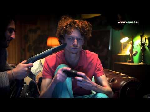 Gamen - Conrad.nl TV-reclame