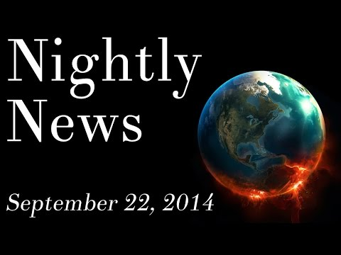 World News - September 22, 2014 - Climate change news, military news, Google & Apple news