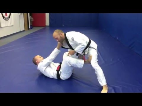 Effective De La Riva Guard Pass using Knee Slice - Pendergrass Academy Technique of the Month Image 1