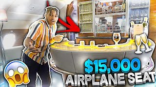 I'm at the BAR sippin' henny IN THE SKY!! (2-Level $15,000 Emirates AIRPLANE SEAT)