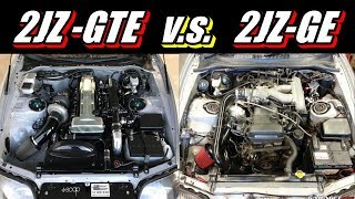 2JZ-GTE v.s. 2JZ-GE - Which Is Better? (You Decide!)