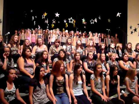 """Beattie Middle School's Joined Choirs """"The Circle of Life"""""""