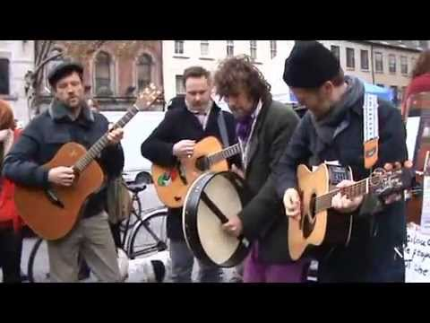 Spirit - Occupy Dame st - Glen Hansard