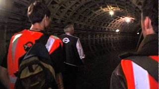 Secret tunnels... a tour of the abandoned underground