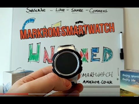 CHEAP SMARTWATCH IS IT WORTH IT? Unboxing and first impressions of the Markrom Smartwatch.