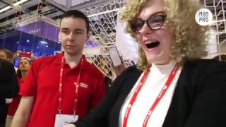 MobPro @ MWC17: The new gaming drone (Drone 'n Base)