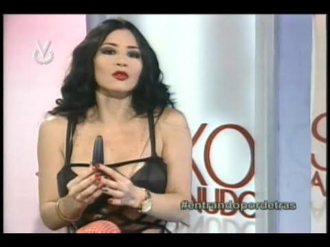 Diosa Canales en Sexo al Desnudo (Venevision)