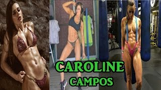 Caroline Campos - Shredded Female Fitness Model / Full Workout & All Exercises