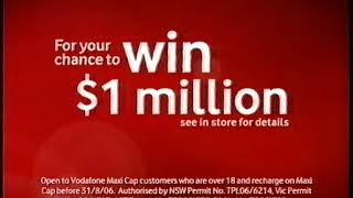 TVC - Vodafone $49 Maxi Cap Prepay Phone Plan 15s (2006)