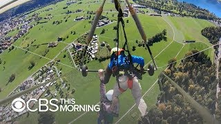 Man recounts hang glider close call: \