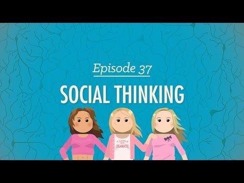 Social Thinking: Crash Course Psychology #37