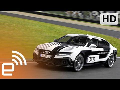 Audi's Self-Driving RS 7