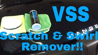 Chemical Guy's VSS Scratch and Swirl Remover!