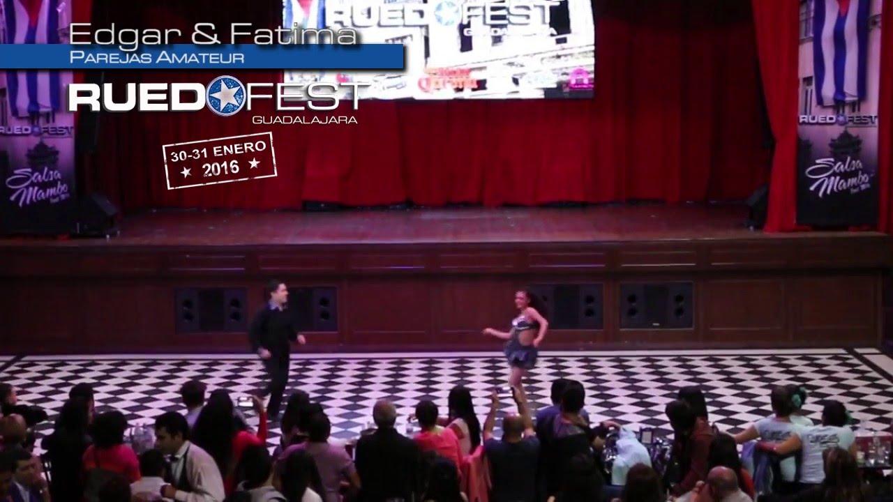 Edgar & Fatima   Parejas Amateur   Ruedafest 2016   Guadalajara