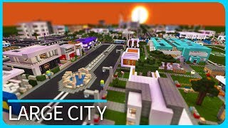 Jerenvids viyoutube minecraft pe maps large modern uks city with download mcpe 11 11 gumiabroncs Image collections