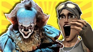 PENNYWISE VOICE TROLLING ON FORTNITE (IT Trolling)