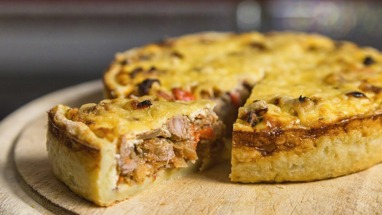 Пироги мясные в духовке рецепты простые