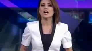TRT Hava durumu spikerinin canlı yayın hatası