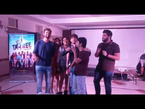 Tafree Gang Sings Live For Students A Song From Their Upcoming Movie Days Of Tafree | Bollywood News