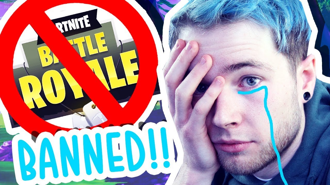 MY WIFE BANNED ME FROM FORTNITE: BATTLE ROYALE..!!