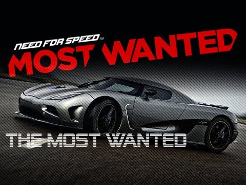MOST WANTED CAR in Need For Speed Most Wanted (2012 HD NFS001 Koenigsegg Agera R)