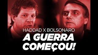 Haddad x Bolsonaro: a guerra começou! | por Renan Santos