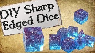 "How to Make Your Own Dice Set | Sharp Edge ""Gem"" Dice"